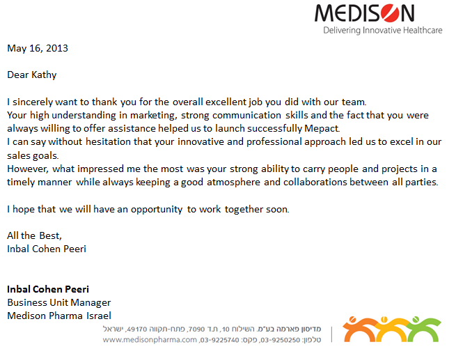 Medison Letter May 2013